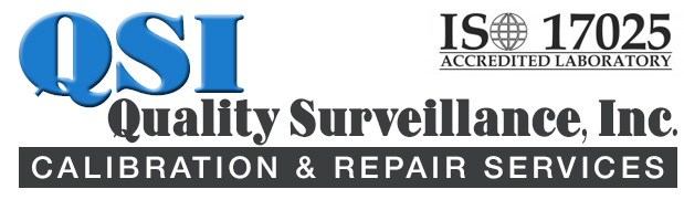 Quality Surveillance, Inc. Metrology Lab, Calibration and Repair Services, Measuring and Test Equipment, ISO 17025 accredited laboratory in Ventura County